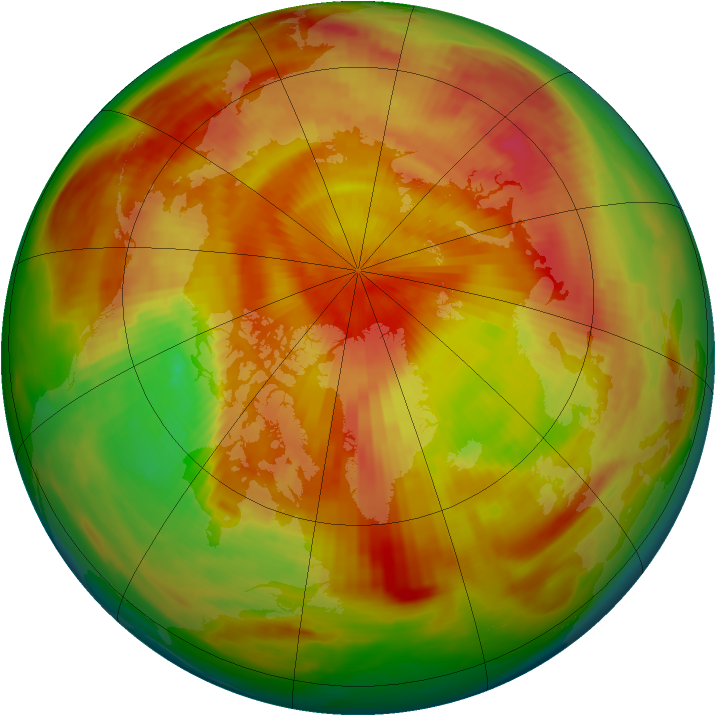 Arctic ozone map for 02 May 1980
