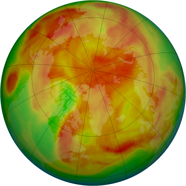 Arctic ozone map for 04 May 1980