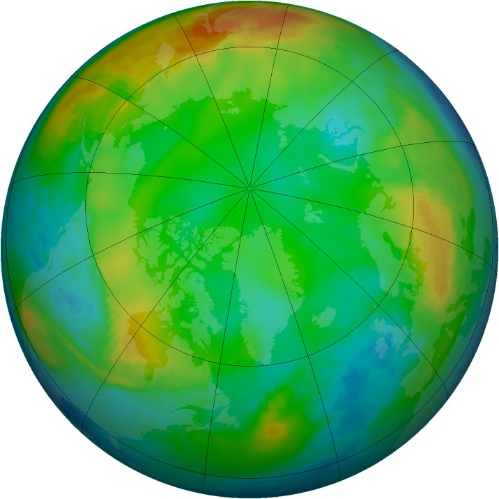 Arctic ozone map for 08 December 1980