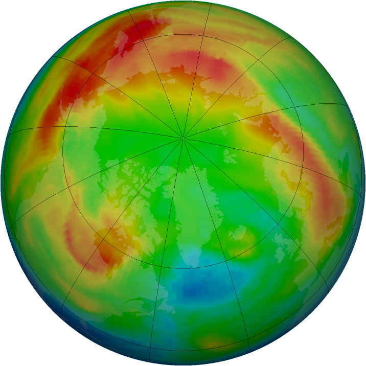 Arctic ozone map for 04 February 1983