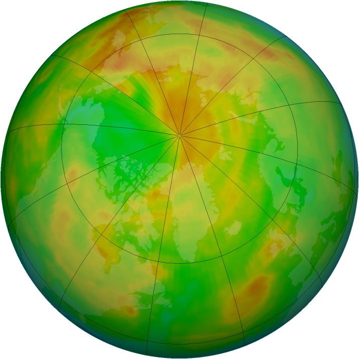 Arctic ozone map for 02 June 1983