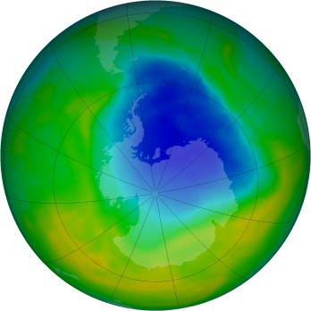 Antarctic ozone map for 2014-11-20