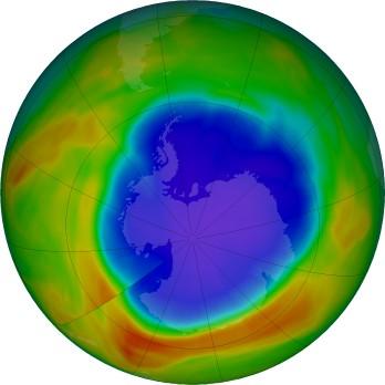 Le trou dans la couche d 39 ozone notre - Trou de la couche d ozone ...