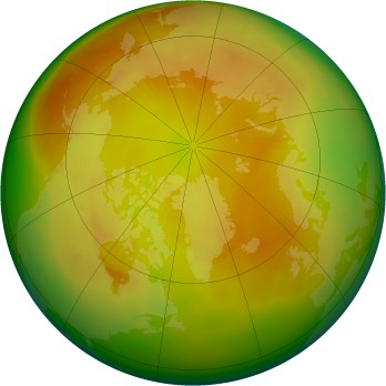 Arctic ozone map for 1979-05