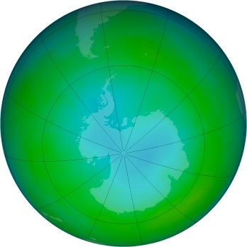 Antarctic ozone map for 1979-05