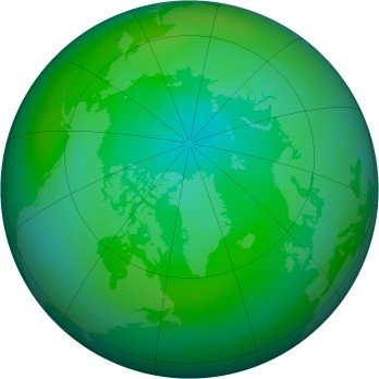 Arctic ozone map for 1979-09
